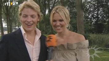 RTL Boulevard Tortelduifjes Thomas en Myrthe doorstaan relatietest