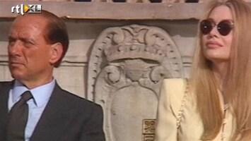 RTL Nieuws Ton alimentatie per dag voor ex Berlusconi