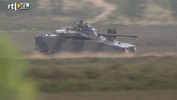 RTL Nieuws Van alles mis met nieuwe pantservoertuigen
