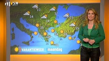 RTL Nieuws Vakantieweer: extreem warm in Toscane