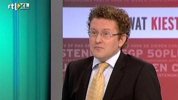 RTL Nieuws 'Euro alleen zeker bij D66,GroenLinks en PvdA'