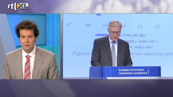 RTL Nieuws Lichte, kortstondige krimp in Europa