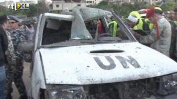 RTL Nieuws Bomaanslag treft VN-konvooi in Libanon