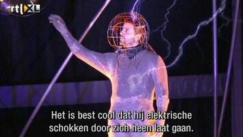 RTL Nieuws Stuntman stopt na drie dagen één miljoen volt