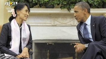 RTL Nieuws Birmese oppositieleider haalt eindelijk prijs op