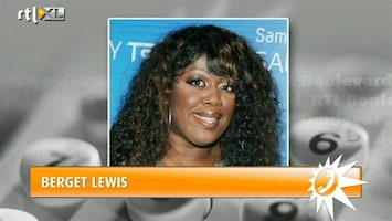 RTL Boulevard Berget Lewis aangehouden voor drugssmokkel