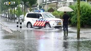 RTL Nieuws Wateroverlast in Zandvoort