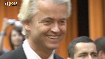 RTL Nieuws Geert Wilders in Berlijn voor toespraak