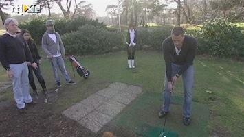 Dames En Heren In De Dop Op de golfbaan