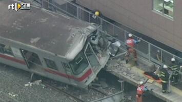 RTL Nieuws Zwaar treinongeluk in Japan