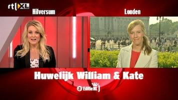 Editie NL Vanessa over huwelijk William en Kate