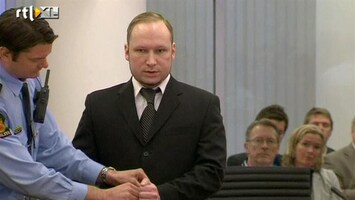 RTL Nieuws Breivik-fans weggehouden bij rechtszaal