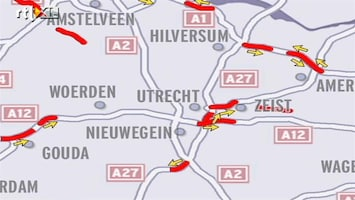 RTL Nieuws VID: drukke avondspits