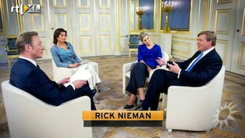 RTL Boulevard Rick Nieman over het TV interview Willem-Alxander en Maxima