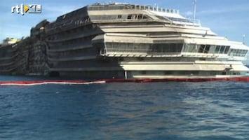 RTL Nieuws Nieuwe beelden Costa Concordia