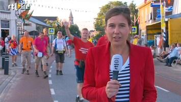 RTL Nieuws 'Laatste wandeldag niet voor iedereen even soepel'