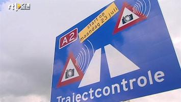 RTL Nieuws Trajectcontrole op A2 van start