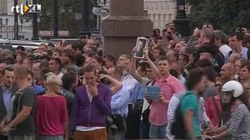 RTL Nieuws Woede om veroordeling Russische oppositieleider