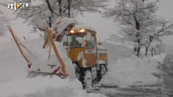 RTL Nieuws Tientallen doden door hevige sneeuw Japan