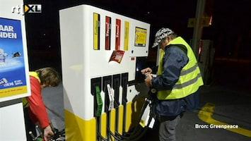 RTL Nieuws Greenpeace bezet tankstations Shell
