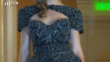 RTL Nieuws Peperedure diamanten jurk geshowd