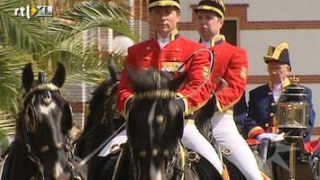 RTL Boulevard Koninklijke paarden op Paleis Het Loo