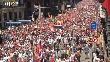 RTL Nieuws Wereld viert en protesteert op 1 mei