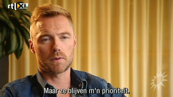 RTL Boulevard Ronan Keating's nieuwe album Fire