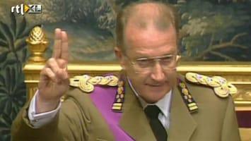 RTL Nieuws Geruchten: 'Koning Albert kondigt aftreden aan'