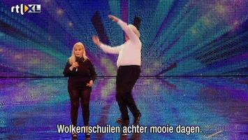Het Beste Van Got Talent Worldwide Gedoezie met Barbara en Bradly