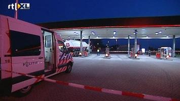 RTL Nieuws Vrouw doodgereden bij tankstation