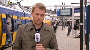 RTL Nieuws Trein in Utrecht staan stil
