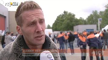 RTL Nieuws PostNL-bezorgers staken: ze voelen zich onderbetaald