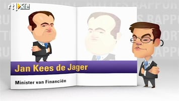 RTL Nieuws Minister De Jager in Ruttes Rapport