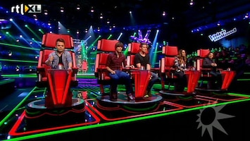 RTL Boulevard Perspresentatie The Voice of Holland 2012