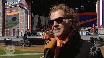 RTL Boulevard André Rieu over laatste voorbereidingen 30 april