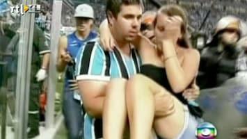 RTL Nieuws Gewonden bij stadiondrama in Brazilië