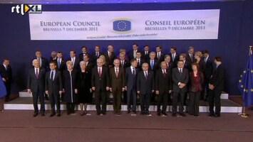 RTL Nieuws Voorzichtig optimisme na eurotop