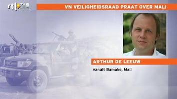 RTL Nieuws 'Franse interventie geen goed nieuws voor gegijzelden Mali'