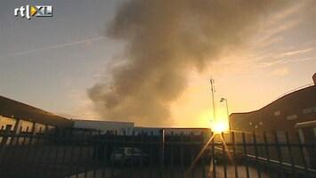 RTL Nieuws Verkeer A15 gehinderd door grote brand