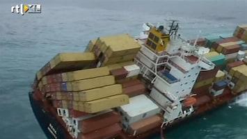 RTL Nieuws Kapitein vastgelopen schip Nieuw-Zeeland vast