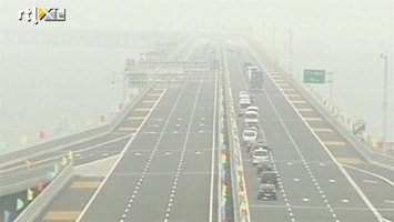 RTL Nieuws Gigantische brug in China