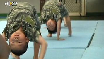 RTL Nieuws Militaire drills bij kinderdagverblijf