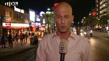 RTL Nieuws Verslag vanuit gespannen Lloret de Mar
