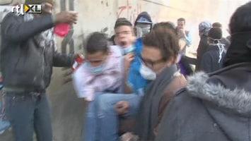 RTL Nieuws Rellen na oproep miljoenenmars Tahrirplein