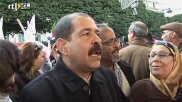 RTL Nieuws Duizenden straat op in Tunesië
