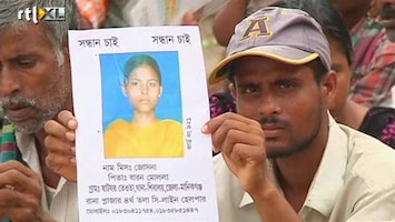 RTL Nieuws Massabegrafenis na instorten kledingfabriek Bangladesh
