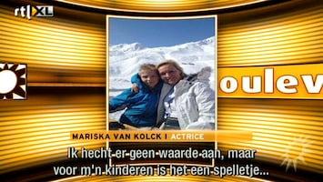RTL Boulevard Huis Mariska van Kolck leeggeroofd