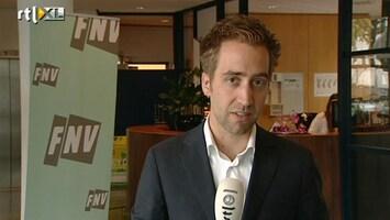 RTL Z Nieuws Onenigheid tussen bonden FNV over pensioenen