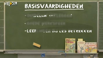 RTL Nieuws Veel leraren kunnen geen lesgeven